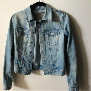 AG blue jean jacket